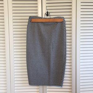 Bar lll Tight Midi Skirt